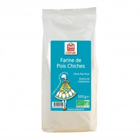 Photo Farine de pois chiches 500g bio Celnat