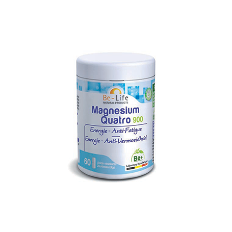 Photo Magnesium quatro 900 60 gélules Be-Life