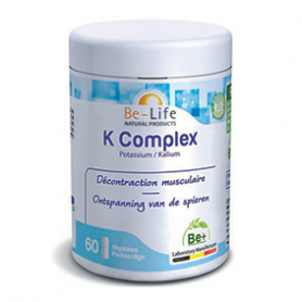 Photo K complex (potassium) 60 gélules Be-Life