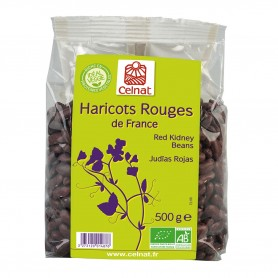 Photo Haricots rouges 500g bio Celnat