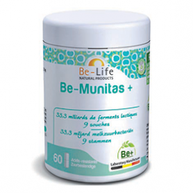 Photo Be-Munitas+ 60 gélules Be-Life