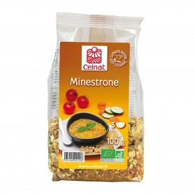 Photo Mélange minestrone 100g bio Celnat