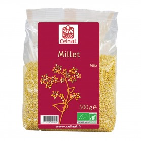 Photo Millet doré decortiqué 500g bio Celnat