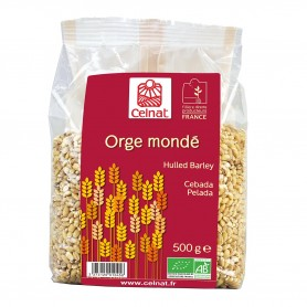 Photo Orge mondé 500g bio Celnat