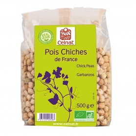 Photo Pois chiches 500g bio Celnat