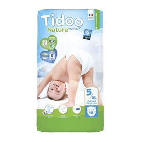 Photo Couches Tidoo Nature T5/XL 12-25kg x46 Tidoo