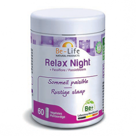 Photo Relax Night + passiflore 60 gélules Be-Life