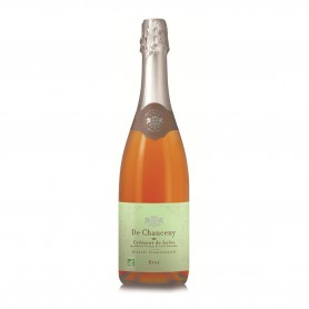 Photo AOP Crémant de Loire rosé brut 75cl bio De Chanceny