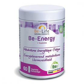 Be-energy + guarana 60 gélules