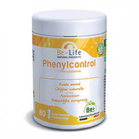 Photo Phenylcontrol (L-Phenylalanine) 60 gélules Be-Life