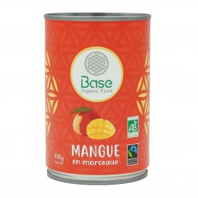 Photo Mangue en morceaux 210g bio Base Organic