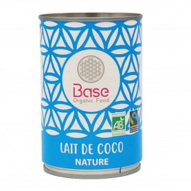 Photo Lait de coco 17% MG 400ml bio Base Organic