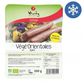 Photo Végé'Orientales à base de Seitan vegan 200g bio Wheaty