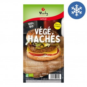 Photo Végé'Hachés à base de Seitan vegan 2x100g bio Wheaty