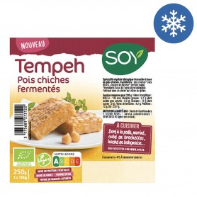 Photo Tempeh à base de pois chiches 2x125g bio Soy