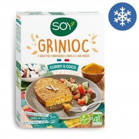 Photo Grinioc curry & coco vegan 2x100g bio Soy