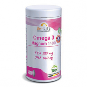 Photo Oméga 3 Magnum 1400 140 capsules Be-Life