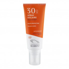 Photo Spray solaire SPF30 100ml bio Alga Maris