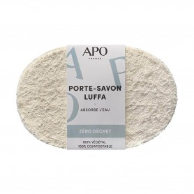 Photo Porte savon en luffa APO