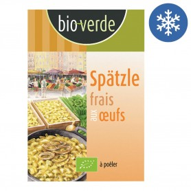 Photo Spätzle souabe original 400g bio Bio Verde
