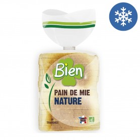 Photo Pain de mie nature 500g bio Bien