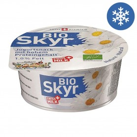 Photo Skyr yaourt nature 135g bio Biedermann