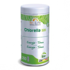 Photo Chlorella 500 200 tablettes Bio Be-Life