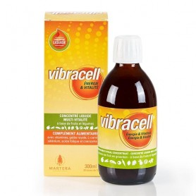 Photo Vibracell Concentré Multivitaminé 300ml Martera