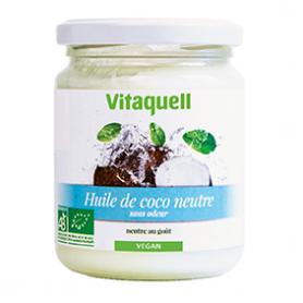 Photo Huile de Coco Neutre 200g Bio Vitaquell