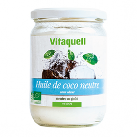 Photo Huile de Coco Neutre 400g Bio Vitaquell