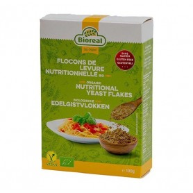 Photo Flocons de levure nutritionnelle 100g Bio Bioreal