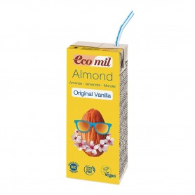 Photo Lait Amandes Vanille 6x200ml Bio Ecomil