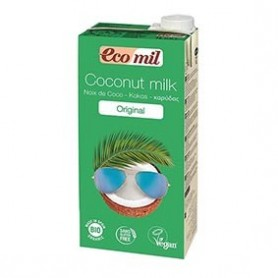 Photo Lait de Coco Original 6x1L Bio Ecomil