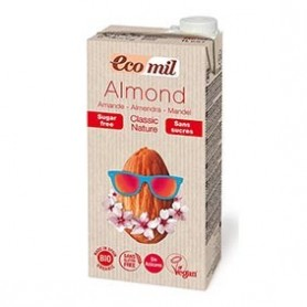 Photo Lait d'Amandes Nature Classic 1L Bio Ecomil