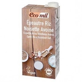 Photo Boisson Epeautre-Riz-Noisette-Avoine 6x1L Bio Ecomil