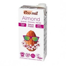 Photo Lait Amandes Protéiné Nature 6x1L Bio Ecomil