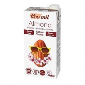 Photo Lait Amandes-Vanille Nature 6x1L Bio Ecomil
