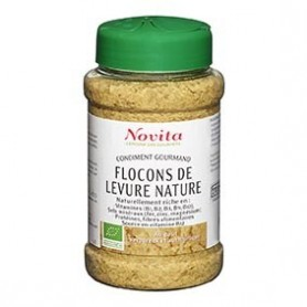 Photo Flocons de Levure Nature 100g Bio Novita