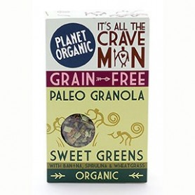 Photo Paleogranola Sweet Greens 350g Bio Planet Organic