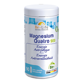 Photo Magnesium quatro 900 90 gélules Be-Life